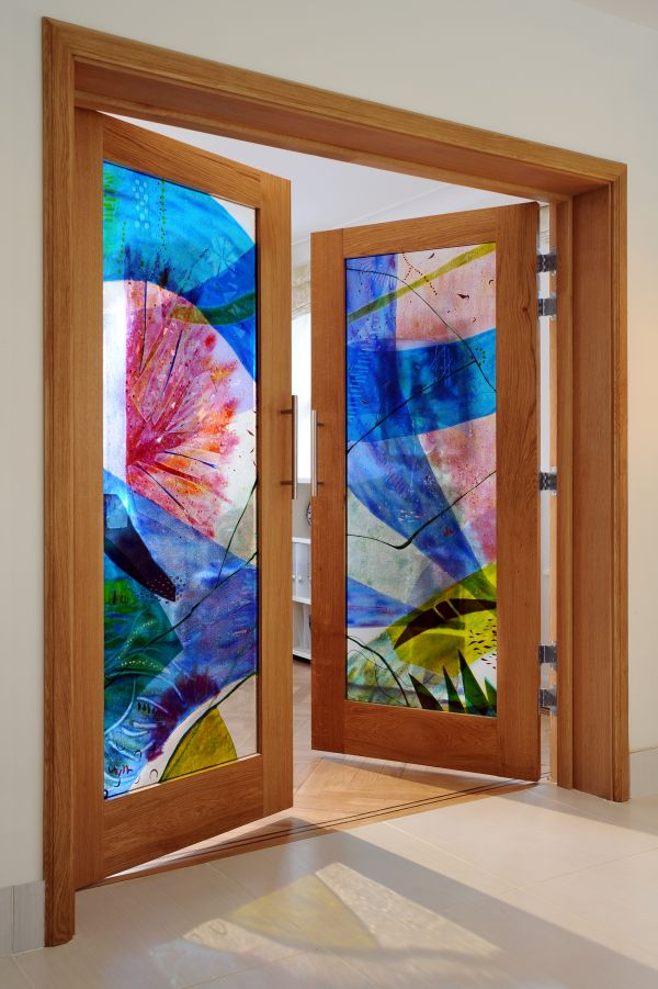 Stained and decorative glass panels sculptures for sale for French doors for sale uk