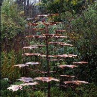 '1.5m Norway Maple Fountain (Copper Pond sculptures)' by Gary Pickles