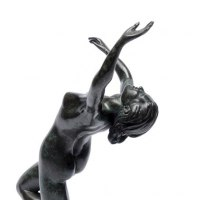 'Spirit of freedom (Wildly Dancing Naked Girl statuette)' by Martin Hayward-Harris