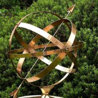 'Armillary Spheres (Brass Sundial Traditional/Historical)' by Silas Higgon
