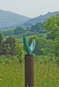 Bronze Organic / Abstract sculpture by sculptor Philip Hearsey titled: 'Equality'