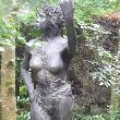 Bronze Females Women Girls Ladies sculpture statuettes figurines sculpture by sculptor Alan Biggs titled: 'Titania'
