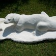 Limestone Badger, Otter, Beaver, Weasel, Stoat, Pine Martin, Wombat sculpture by Anthony Bartyla titled: 'Otter'