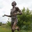 Bronze Famous People Sculptures Statues sculpture by Carl Payne titled: 'Sir Roger Bannister (life size Commemorative Athlete statue)'