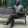 Resin composite Commission and Custom and Bespoke sculpture Statues sculpture by Richard Austin titled: 'Sir Malcolm Arnold'